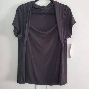 Rafaella Black Stretchy Top